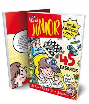 Livro jogos Visão Júnior