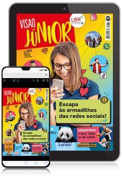 EUROPA VISÃO Júnior (digital) 6 meses