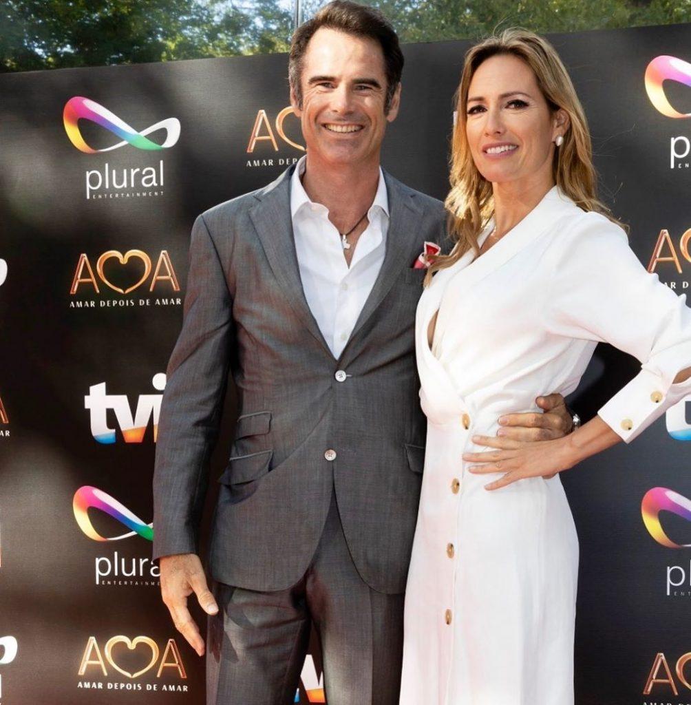 Pedro Lima e Fernanda Serrano