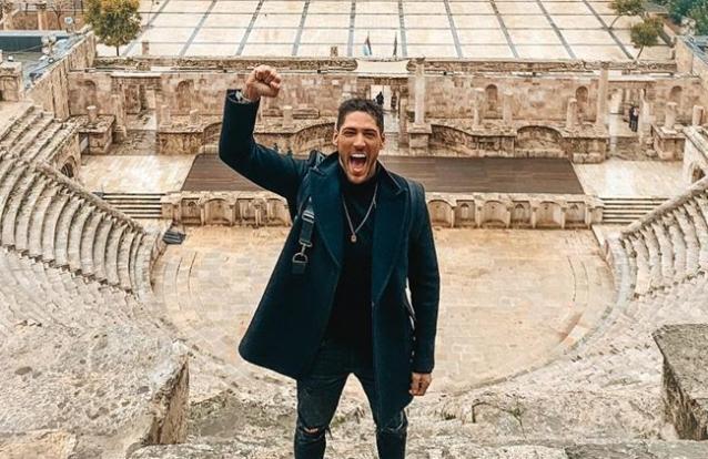 Ângelo Rodrigues faz primeira viagem internacional desde o internamento