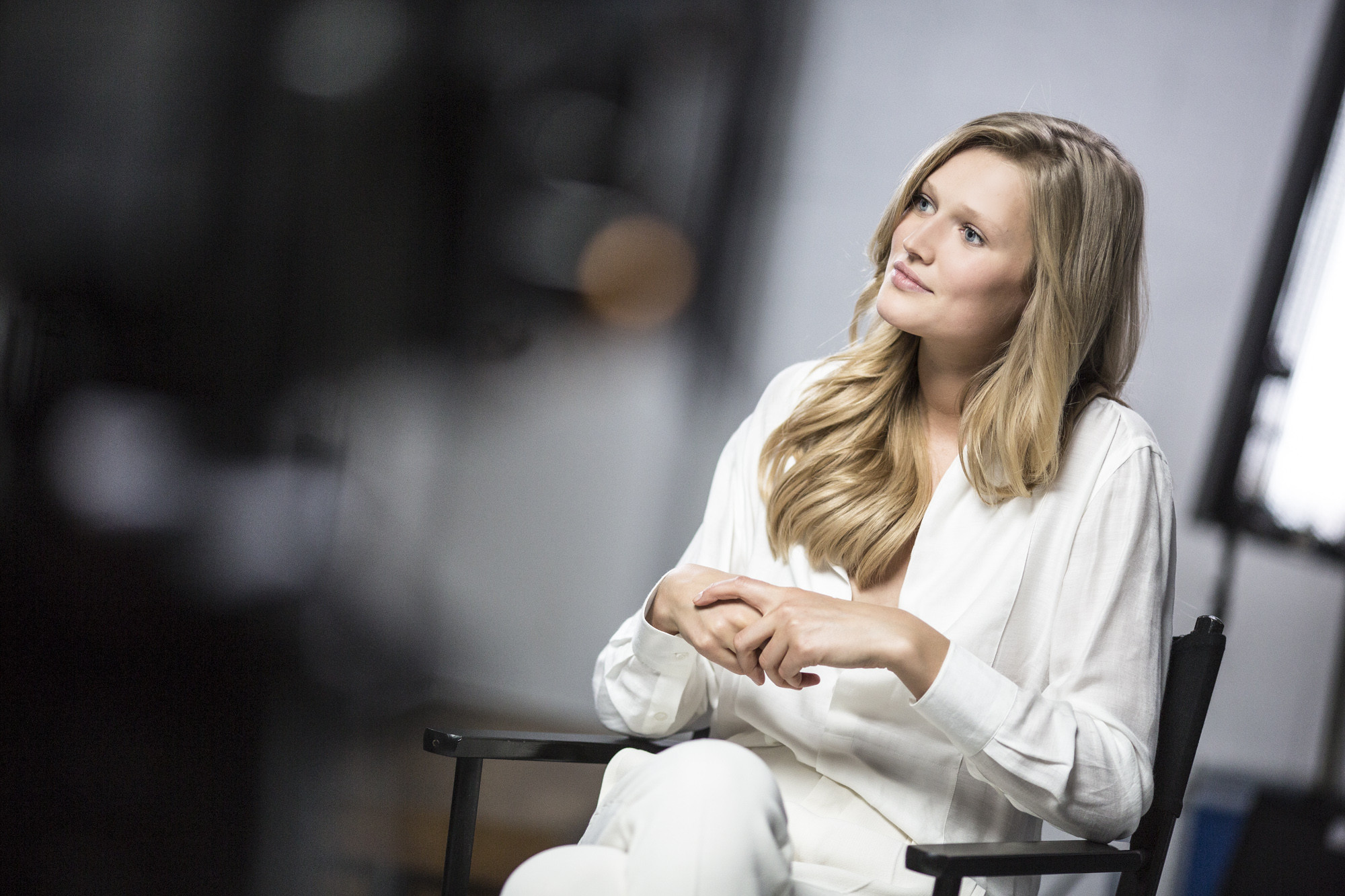 Kérastase Toni Garrn backstage - Very Personal Care for Exceptional Hair 5.jpg