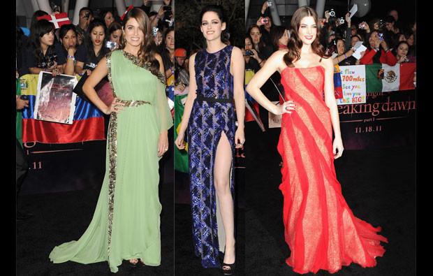 Nikki Reed, Kristen Stewart e Ashley Greene