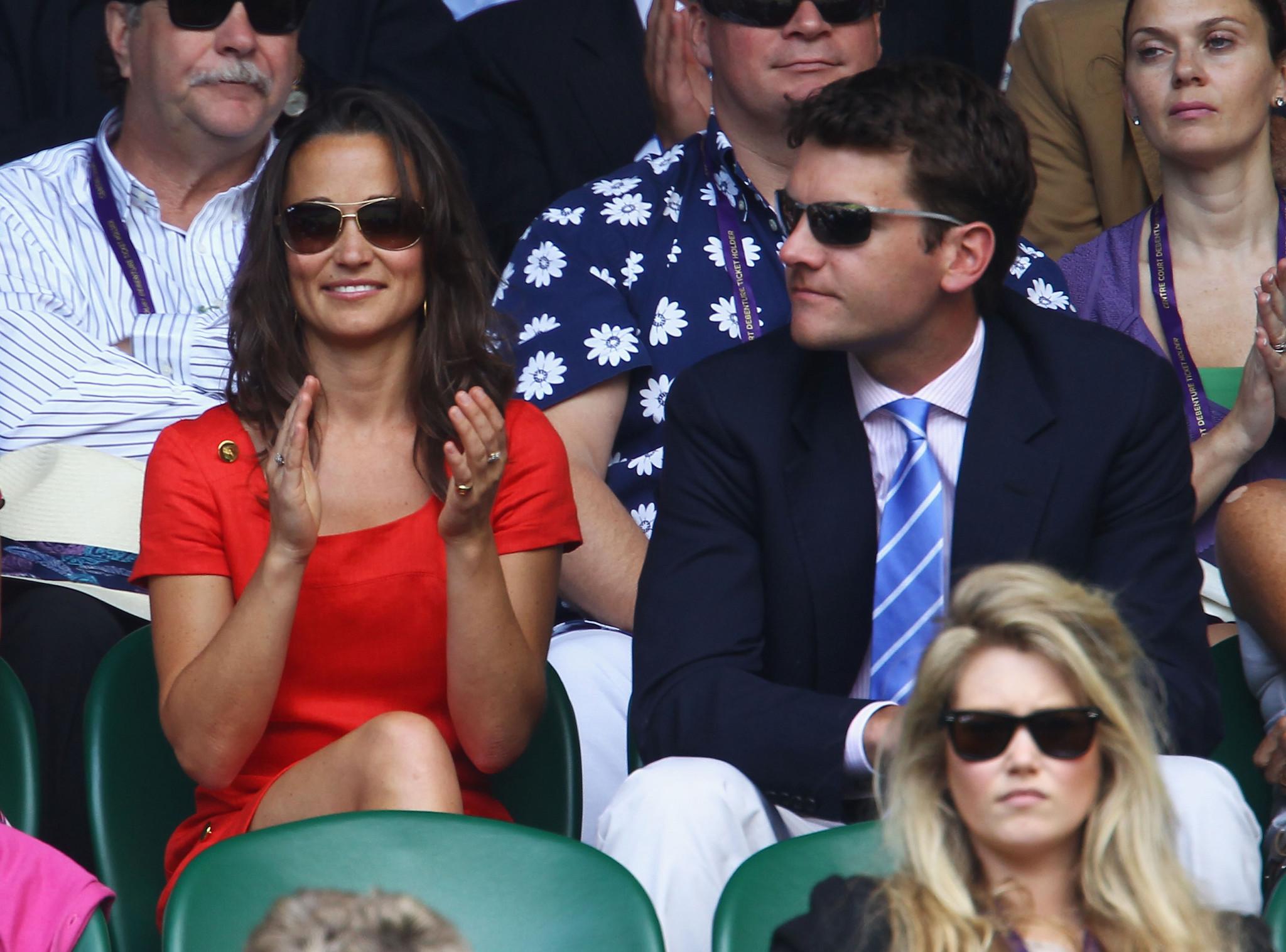 Pippa Middleton e Alex Loudon