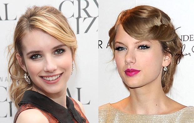 Emma Roberts e Taylor Swift