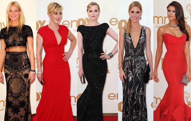 Gwyneth Paltrow, Kate Winslet, Evan Rachel Wood, Julie Bowen e Nina Dobrev