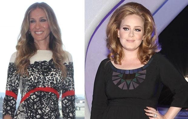 Sarah Jessica Parker e Adele