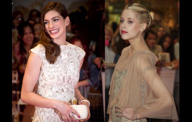 Anne Hathaway e Peaches Geldof