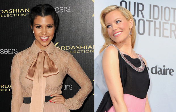 Kourtney Kardashian e Elizabeth Banks