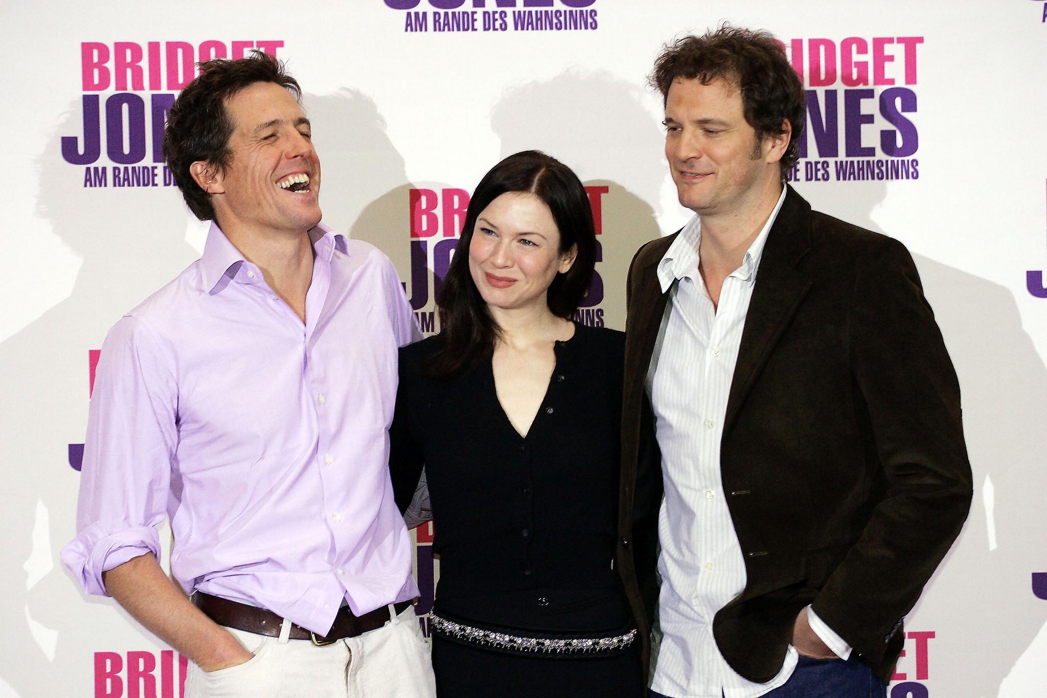 Hugh Grant, Renée Zellweger e Colin Firth