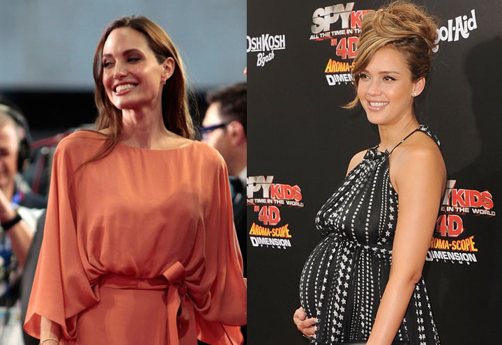 Angelina Jolie e Jessica Alba