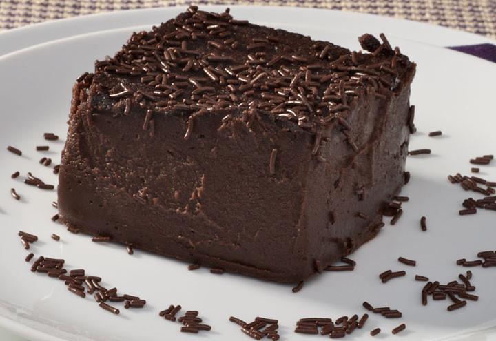 Bavaroise de chocolate