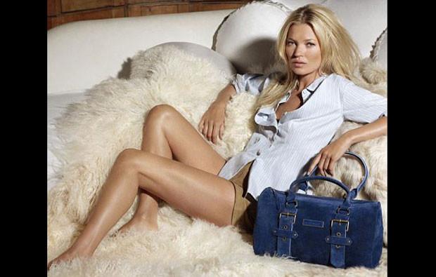 Kate Moss for Longchamp, coleção outono 2011
