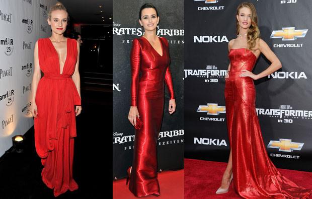 Diane Kruger, Penelope Cruz e Rosie Huntington-Whiteley