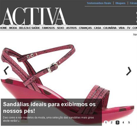 Visite o novo site da ACTIVA!