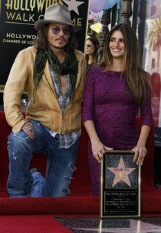 Penélope Cruz já tem estrela em Hollywood