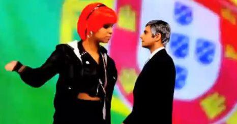 Vídeo: Rui Unas e Cláudia Semedo cantam versão de música de Rihanna