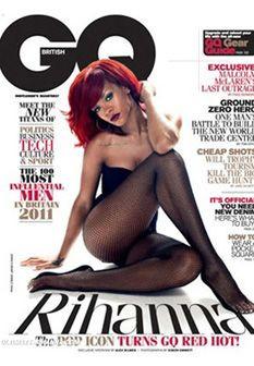 Rihanna volta a posar para a GQ