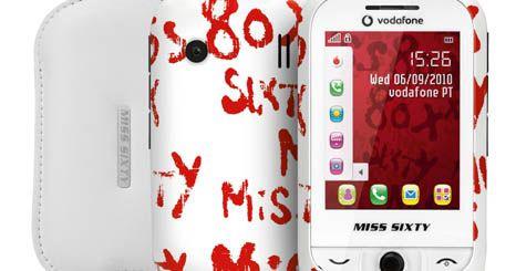 Miss Sixty e Vodafone juntas na criação de um telemóvel único.