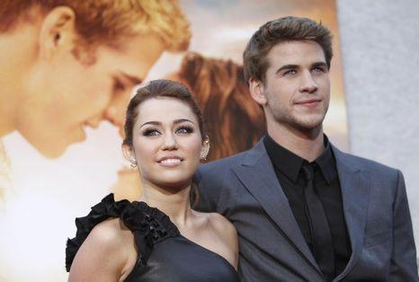Miley Cyrus e Liam Hemsworth juntos outra vez