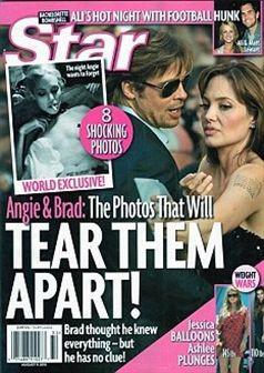 Choque: Angelina Jolie em fotografias sado-maso