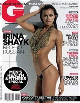 Irina Shayk tira as roupas para a GQ