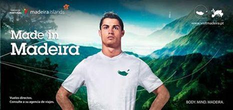 Cristiano Ronaldo publicita a Madeira