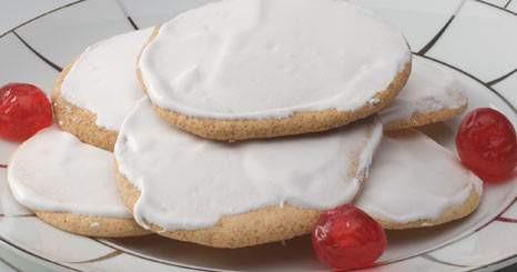 Biscoitos cobertos
