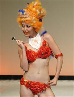 Insólito: manequins em lingerie muito pouco convencional