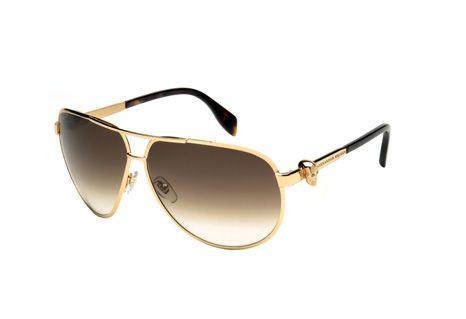 Caveira de Alexander McQueen em óculos de sol