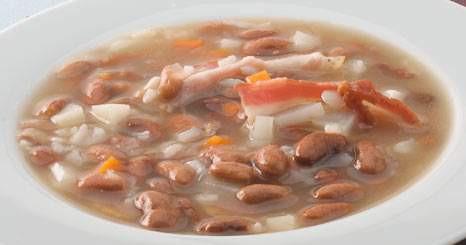 Sopa de feijão com nabos
