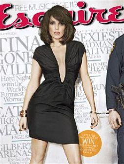 Tina Fey bêbeda na Esquire