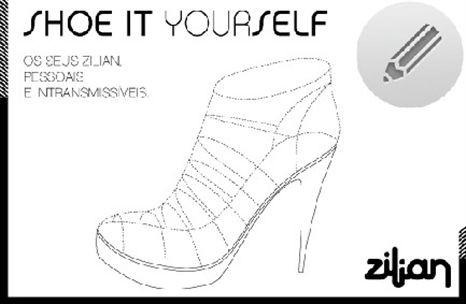 Shoe It Yourself: faça o seu próprio sapato