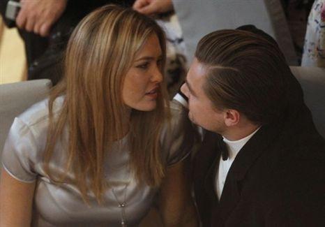 Bar Rafaeli e Leonardo DiCaprio: muito apaixonados em público