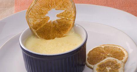 Tigeladas de laranja e canela