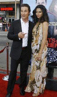 Matthew McConaughey foi pai da segunda filho!