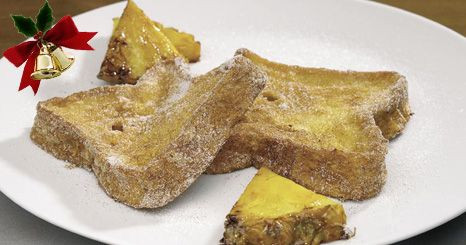 Rabanadas com ananás