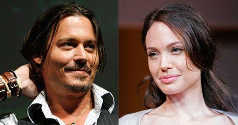Johnny Depp compara Brad e Angelina a Liz Taylor e Richard Burton