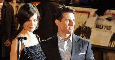 Tom Cruise e Katie Holmes celebram terceiro aniversário de casamento