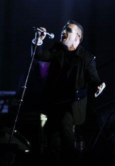 U2 multados por poluição sonora