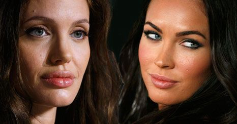 Angelina Jolie intimida Megan Fox