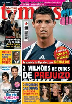 Esta semana na TvMais: Cristiano Ronaldo