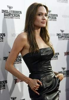 Magreza extrema de Angelina Jolie incomoda Brad Pitt