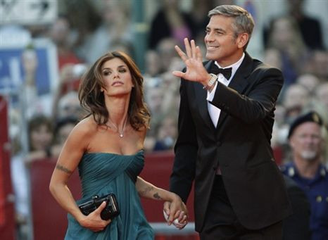 George Clooney e Elisabetta Canalis terminaram o namoro!