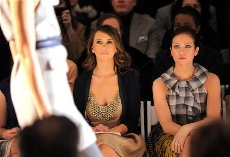 'Apanhados': celebridades na primeira fila dos desfiles de moda