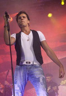 Mickael Carreira deu concerto em Cascais para 20 mil pessoas
