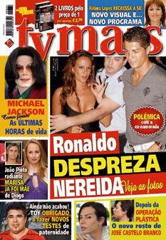 Esta semana na TV Mais: Ronaldo despreza Nereida