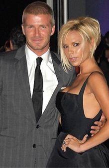 David e Victoria Beckham despem-se para a Armani