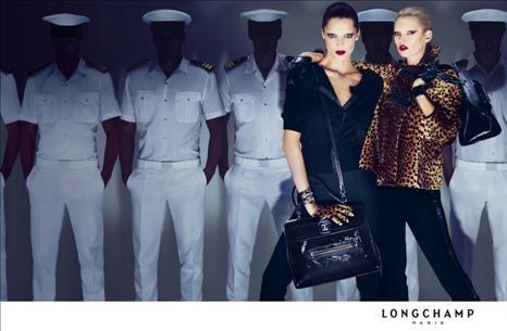 Kate Moss: imagem de Longchamp