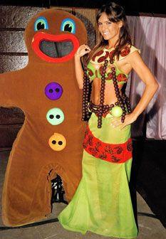 Diana Chaves usou vestido feito com o  melhor doce do mundo