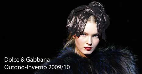 Dolce & Gabbana: uma colecção exuberante para o tempo frio